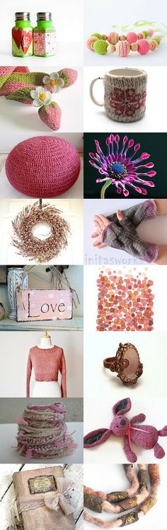 winter in pink by Christa Brenner on Etsy--Pinned with TreasuryPin.com