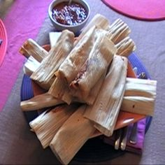 Beef Tamales - Melanie and I are going to try this recipe on Monday .. hope they're good!