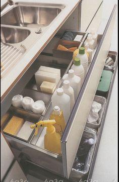 [Kitchen Design Ideas] Best 27 Kitchen Sink Storage: Have Only 2 Cupboards In My Kitchen Under Sink Big Mistake