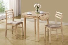 3-Piece Dining Set in Natural