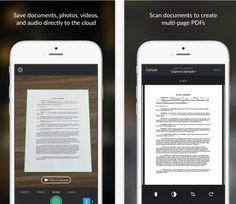 CompuTekni: Box añade una función de escaneo de documentos en su app para iOS