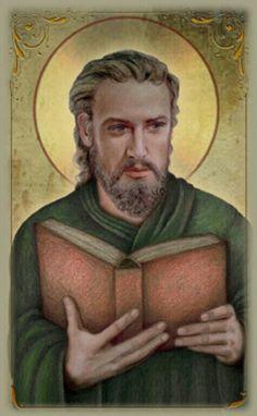 Luke the Evangelist Plaque Luke The Evangelist, St Luke, Thing 1, Saint Quotes, Mystic, Catholic, Saints, Spirituality, Christian