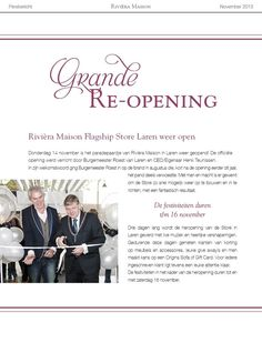 Rivièra Maison Flagship Store Laren weer open!