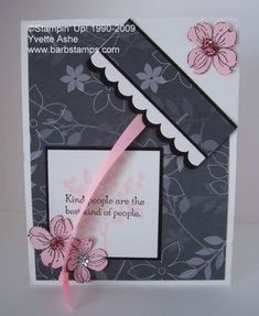Bookmark Card Tutorial - And this idea is Really cool.  Love the bookmark.