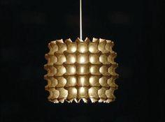 Lámparas con material reciclado - Las Manualidades