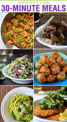 30-Minute Meals from justataste.com #recipe