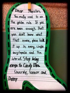 "I used this writing activity for our Fairy Tale unit after we read the book ""Cindy Ellen."" Yet another letter-writing activity that was fun."