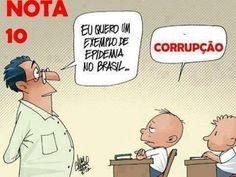 Post  #FALASÉRIO!  : CORRUPÇÃO , É O CÂNCER DA NAÇÃO !