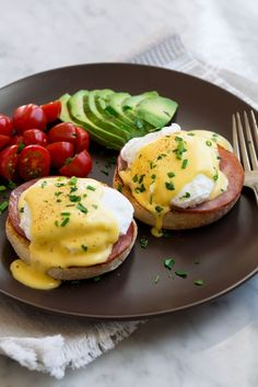 Eggs Benedict Recipe {with the Best Hollandaise Sauce!} - Cooking Classy