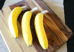 Bananas and plastic wrap