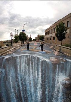 Street painting illusions
