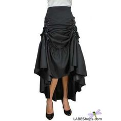 I made a skirt similar to this many years ago //Black 3 Way Long Gothic Skirt