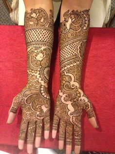 bridal mehndi designs for wedding