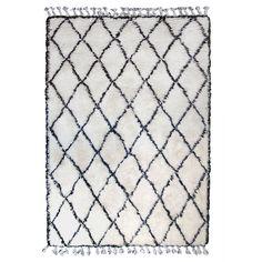 Products details - Carpets - Black/white berber rug