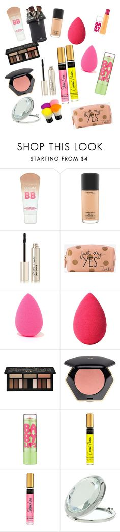 """""""Jajaj😔😳😬 this is all the makeup I have 😩"""" by fragolinapiu ❤ liked on Polyvore featuring Maybelline, MAC Cosmetics, Smith & Cult, Zoella Beauty, Urban Decay, beautyblender, Kat Von D, H&M, Victoria's Secret and Miss Selfridge"""