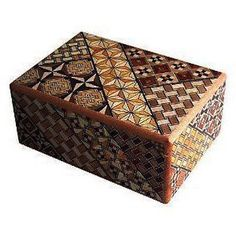 Traditional-Japanese-Hakone-Yosegi-Wooden-Secret-Puzzle-Trick-Box-10-Steps