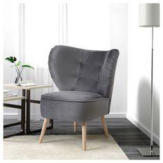 eken set armchair idhult black pinterest armchairs solid wood and woods. Black Bedroom Furniture Sets. Home Design Ideas