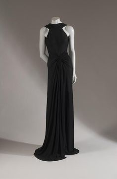 Madame Grès, Evening Dress, 1938, Fashion Institute of Technology, New York