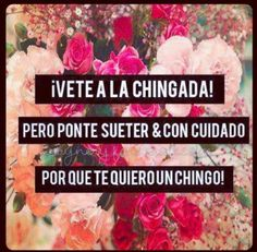Find images and videos about a la chingada on We Heart It - the app to get lost in what you love. Spanish Humor, Spanish Quotes, Me Quotes, Funny Quotes, Funny Memes, Girl Quotes, Woman Quotes, Qoutes, Mexican Phrases