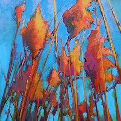 """by Ed Chesnovitch oil """"Color & Light are the focus of my pastel paintings which evoke an underlying current of energy, captured in nature, at extrem Paintings I Love, Light Colors, Flower Art, Landscape Paintings, Nature, Flowers, Acrylics, Pastels, Design"""