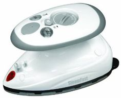 Amazon.com: SteamFast SF-717 Home-and-Away Mini Steam Iron. Model is made for 120 Volts only.: Home & Kitchen