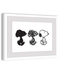 Another great find on #zulily! Peanuts Snoopy Framed Giclée Print by Peanuts by Charles Schulz #zulilyfinds