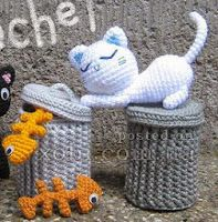 ideas for crochet cat amigurumi granny squares Crochet Toys Patterns, Crochet Designs, Crochet Dolls, Crochet Octopus, Halloween Crochet, Knitted Animals, Cat Doll, Crochet Baby Booties, Cute Crochet