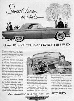 1955 Ford Thunderbird Ad