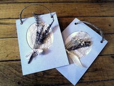 Dried Lavender Rose and Flower Aromatic Art by ADKaromatherapy