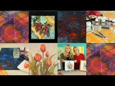 Como pintar seda - Tecnicas de Pintura en Seda  - Conny Mellien Becker                                                                                                                                                      Más