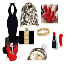 """""""is time for red carpet"""" by anastasia-sutawijaya on Polyvore featuring Ted Baker, Halston Heritage and Chanel"""