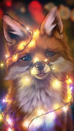 🦊✨SHINNING FOX✨🦊 (werble multiple pulses and no image clipping) – Beauty Girl photos, ideas, gifs Super Cute Animals, Cute Cartoon Animals, Cute Little Animals, Anime Animals, Cutest Animals, Cute Kawaii Drawings, Cute Animal Drawings, Cute Animal Pictures, Cute Disney Wallpaper