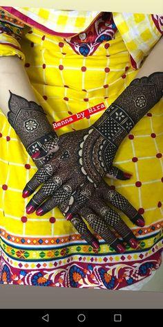 Henna Art Basic Mehndi Designs, Henna Art Designs, Stylish Mehndi Designs, Mehndi Design Pictures, Wedding Mehndi Designs, Beautiful Mehndi Design, Mehndi Designs For Hands, Mehndi Images, Kashees Mehndi