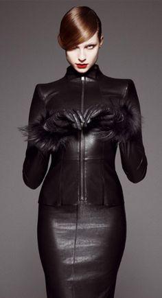 Le Cornacchie Della Moda: Total Leather - Jitrois