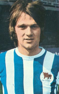 Les Chapman of Huddersfield Town in 1970.