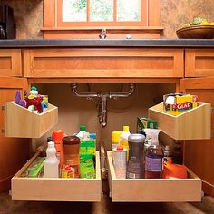 Interesting Kitchen Storage Ideas For Small Spaces Inspirational Kitchen Design Ideas on a Budget with 45 Small Kitchen Organization And Diy Storage Ideas Cute Diy – Interior Design Kitchen Sink Storage, Under Sink Storage, Diy Storage, Kitchen Organization, Cabinet Storage, Organization Ideas, Kitchen Cabinets, Storage Hacks, Organized Kitchen