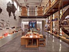 Shinola Shop, a vintage bike shop designed by Rockwell Group