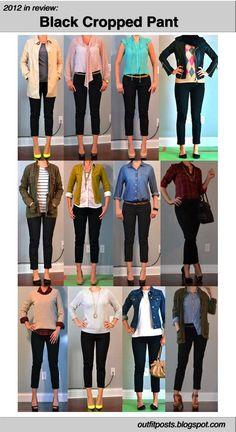 12 Outfits super sencillos :D