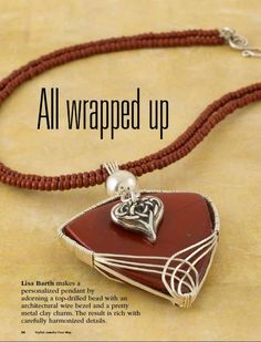 Lisa Barth Free tutorial Book Review - Stylish Jewelry Your Way ~ The Beading Gem's Journal