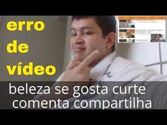Nelsonpassos/blog: erros_no vídeo aviso de outro