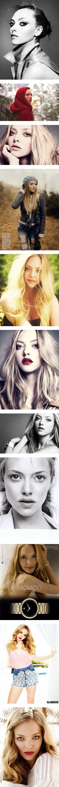 """Amanda Seyfried ♥"" People tell me I look like her, but I don't really see it..."
