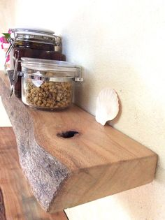Floating Shelf Kitchen Wooden Rustic Silky Oak Hand crafted by Golden Whistler Wood Shop Perth, Australia