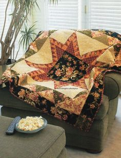 Aspen Feathered Star Quilt Pattern Pieced JL