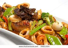 peruvian cuisine, chifa is a peruvian-chinese fusion food. by Christian Vinces, via ShutterStock