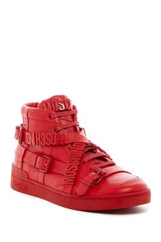 low priced 8946c c5d0c Belt Logo Tonal Hi-Top Sneaker