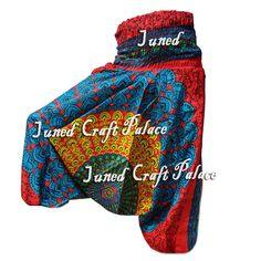 New Indian Women Gypsy Hippie Aladdin Baggy Trousers Casual Harem Rayon Pants o2 #Junedcraftpalace #Harem