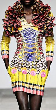 Mary Katrantzou ~Latest African Fashion, African Prints, African fashion styles, African clothing, Nigerian style, Ghanaian fashion, African women dresses, African Bags, African shoes, Nigerian fashion, Ankara, Kitenge, Aso okè, Kenté, brocade ~DK