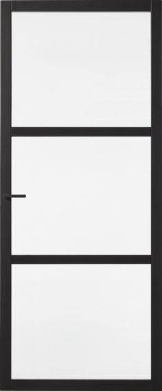 Skantrae SlimSeries Zwarte Binnendeur SSL 4023