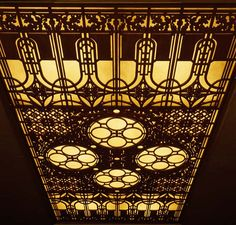 ) Frank Lloyd Wright Home and Studio Dining Room Grille