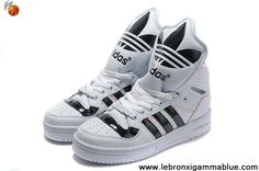 Buy Discount Adidas X Jeremy Scott Big Tongue Shoes White Basketball Shoes Shop